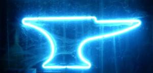 Neon Anvil