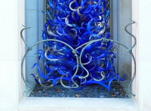 Chihuly Bronze grille