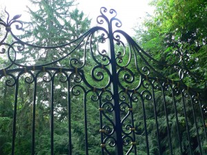 Jagger gate detail top