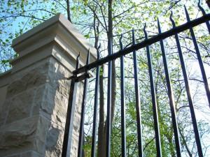 Castle gate detail