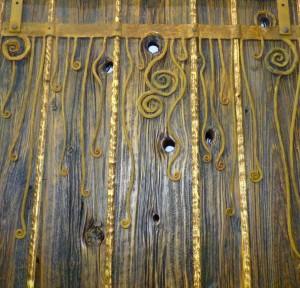 Wild Door Detail