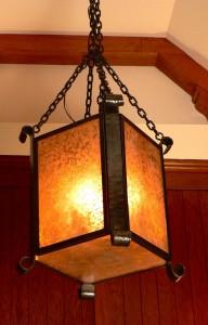 Mica lantern