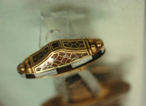 Original Sutton Hoo Sword Pommel