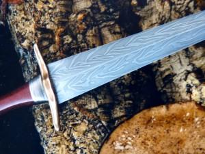 Enamel Bronze Age Dagger