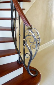 Spanish Newel post