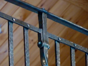 Cross Tie railing Detail