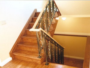 Pearls railing installled