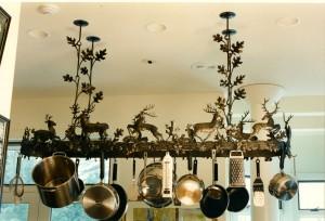 Deer kitchen Rack