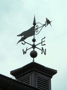 Meek weathervane