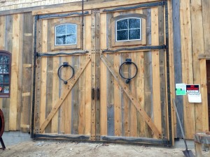 Doors at Sleeping Bear Forge