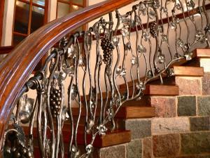 Wine cellar stairs