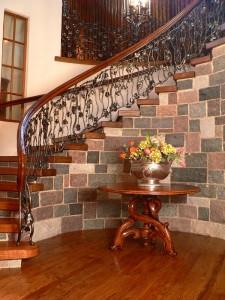Grand cellar railing