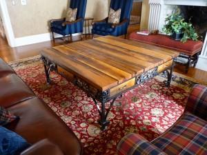 Oak leaf table 2