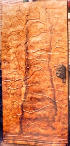 Euro copper door
