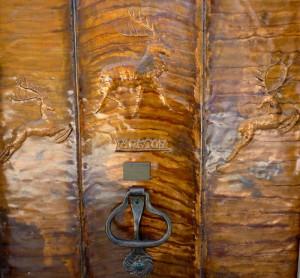 Lankton Studio copper door