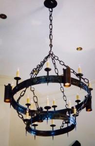 Tudor chandelier