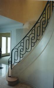 Art Deco railing