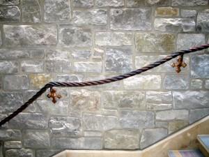 Bronze Rope Handrail